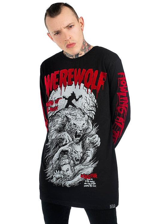 Killstar- Werewolf Long Sleeve Top