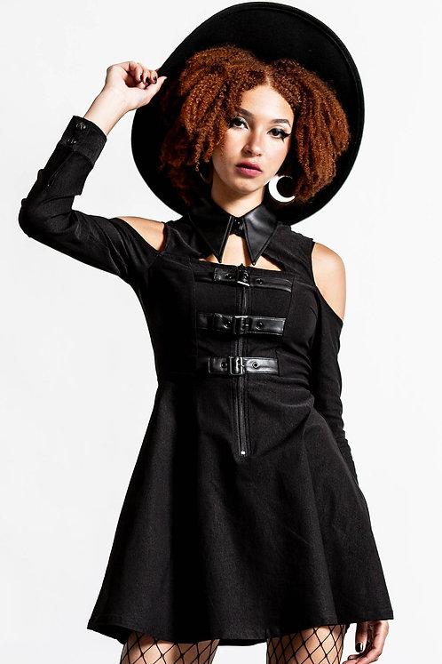 Killstar-Chaotica Shirt Dress
