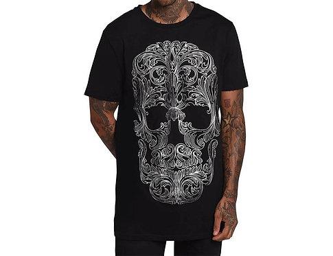 Killstar - Filigree Skull T-Shirt