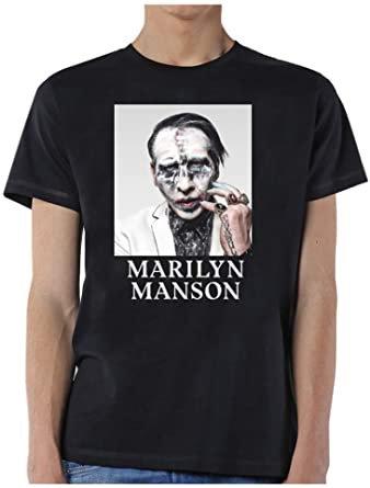 Music Band T-shirt-Marilyn Manson