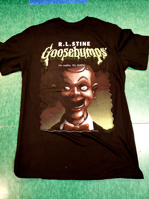 Men T-shirt- Goosebumps/Dummy