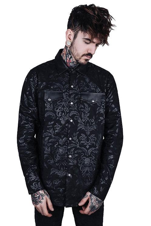 Killstar - Dark Ocean Button-Up Shirt