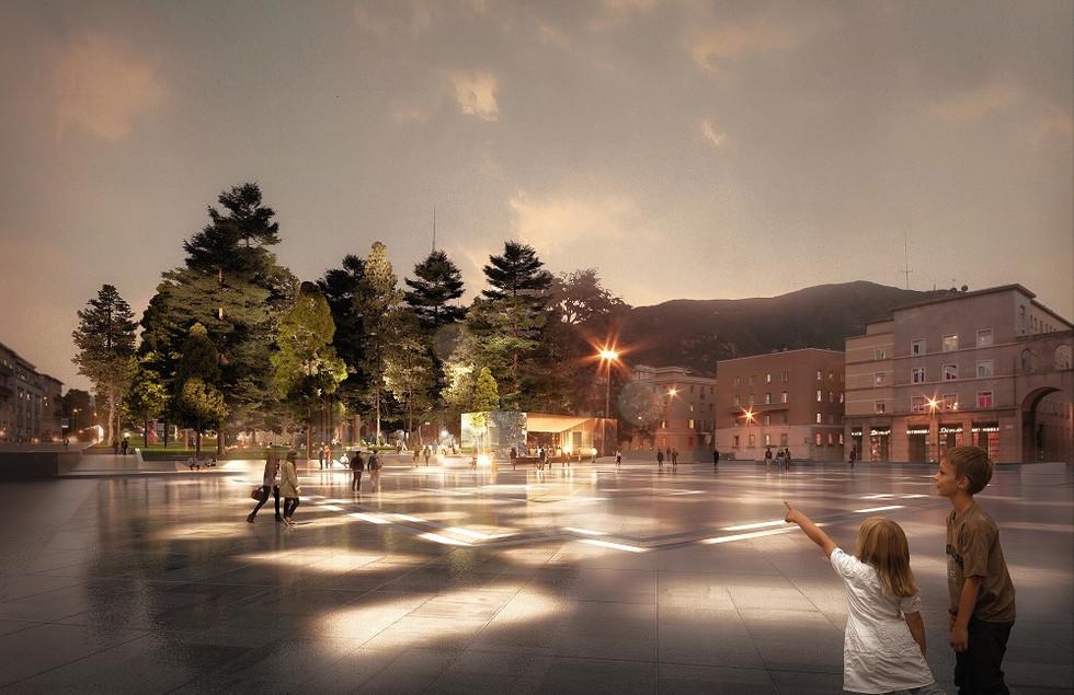 Concorso di progettazione per la sistemazione superficiale di Piazza Vittoria a Bolzano