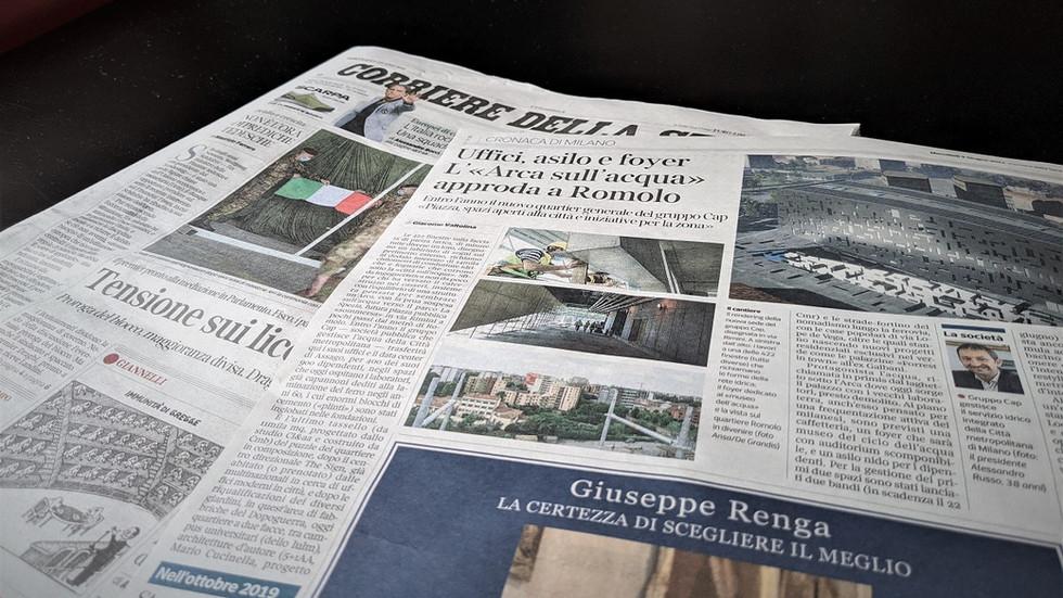 CAP Headquarters @Corriere della sera Milano
