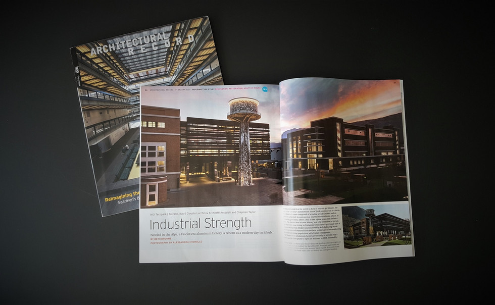 NOI TechPark @architectural record magazine