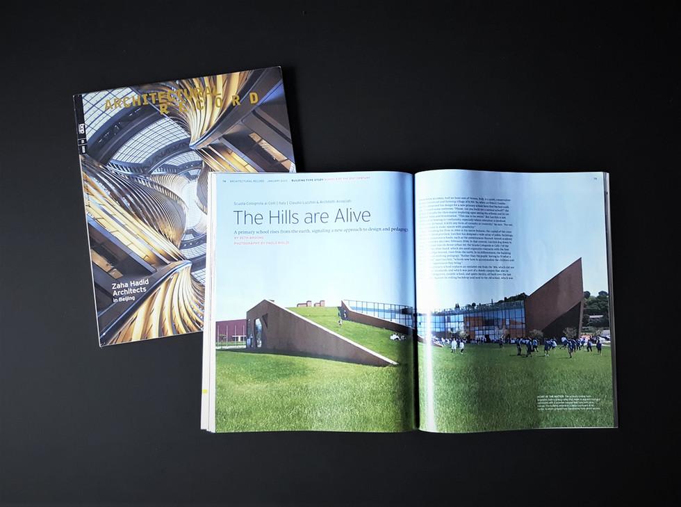 Scuola Colognola ai Colli @architectural record magazine