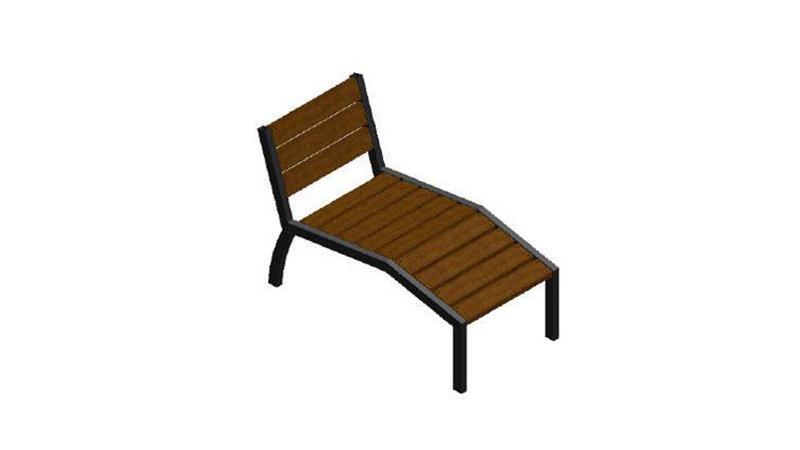 Chaise longue VALENCE