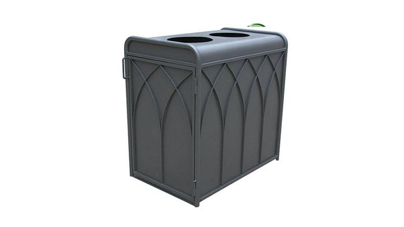 Abri conteneur metal URBANEO