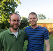 Michael Kooman and Chris Dimond, writers of The Noteworthy Life of Howard Barnes