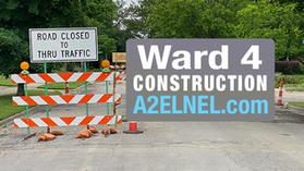 Packard Lane Closures June 14-25, 2021