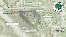 Churchill Downs Park Stormwater Basin Update July 7 2021