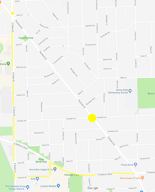 Packard/Granger detour May 17-19