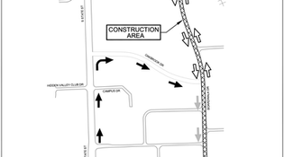 Boardwalk Drive Temporary Detour  (July 20th - Aug 29th)