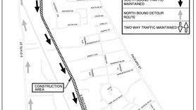 Industrial Highway Detour Update (June 9th - July 23rd 2021)
