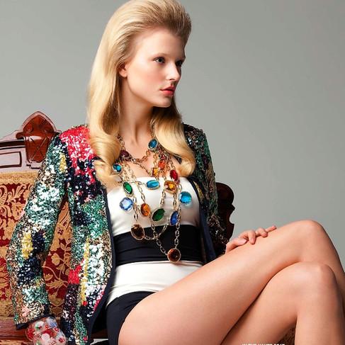 SLJ Necklace for Florida International Magazine