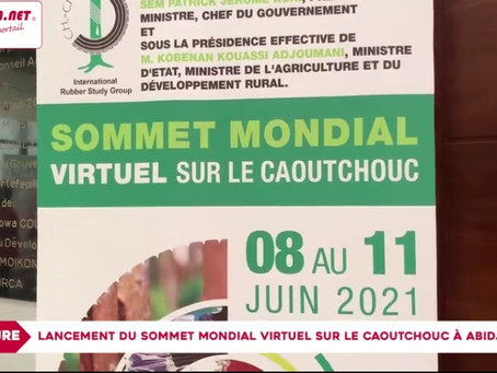 World Rubber Summit 2021 Virtual Event - Grand Opening Ceremony in Abidjan, Cote d'Ivoire