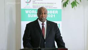 World Rubber Summit 2021 IRSG Chairman, H.E. Aly Toure Opening Address