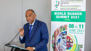 World Rubber Summit 2021 Opening Address from Abijan, Cote d'Ivoire