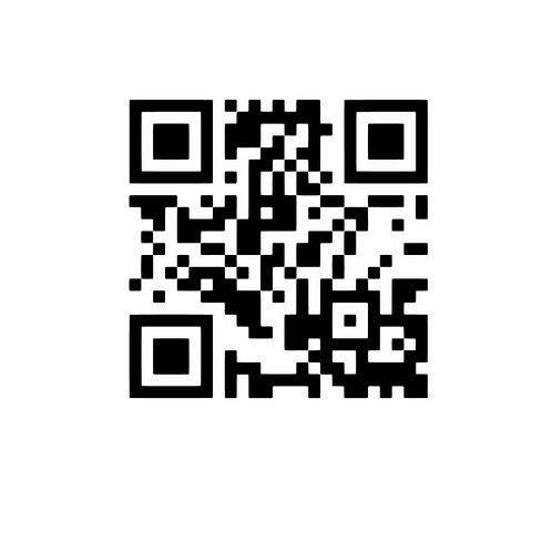 QR kod med eget budskap