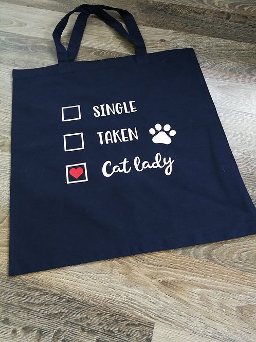 Tygkasse Cat lady