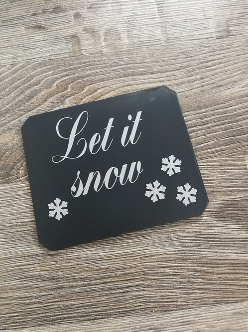 Isskrapa, Let it snow