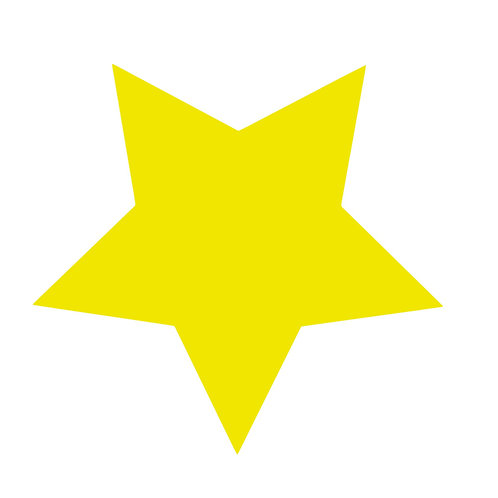 Stjärna, väggdekal
