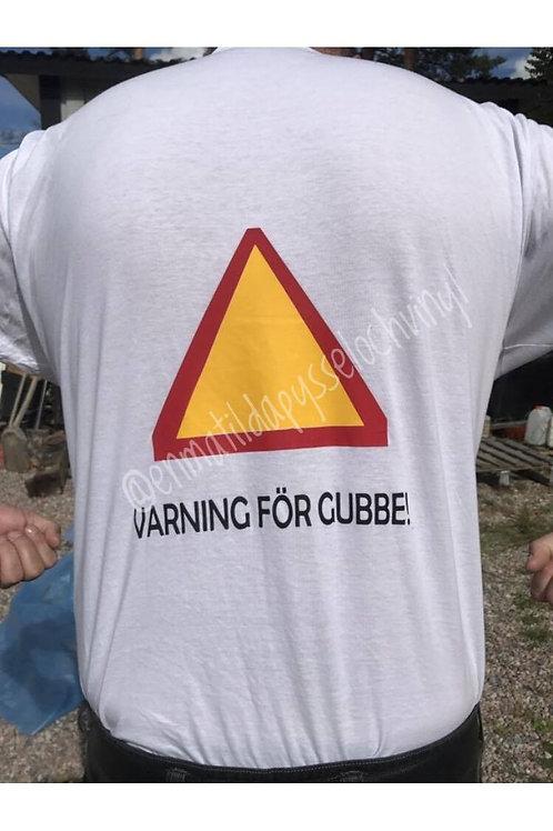 Varning för gubbe, T-shirt
