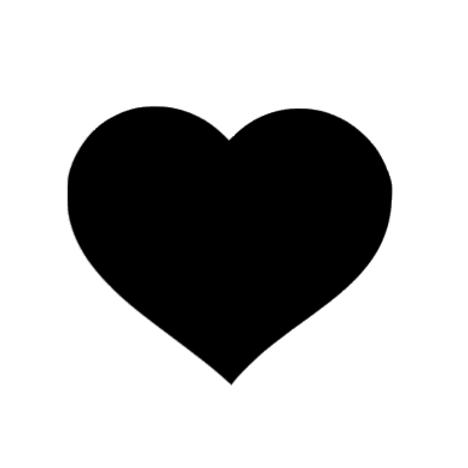 Hjärta, väggdekal
