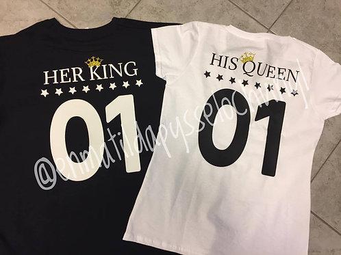 Her King, His Queen, His King, Her Queen