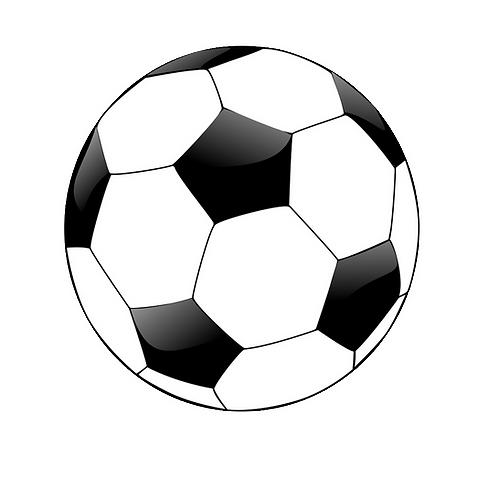 Fotboll, flerfärgstryck