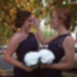 A couple of adorable bridesmaids from yesterday's wedding.jpg