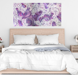 Lace and Love 24x 48in