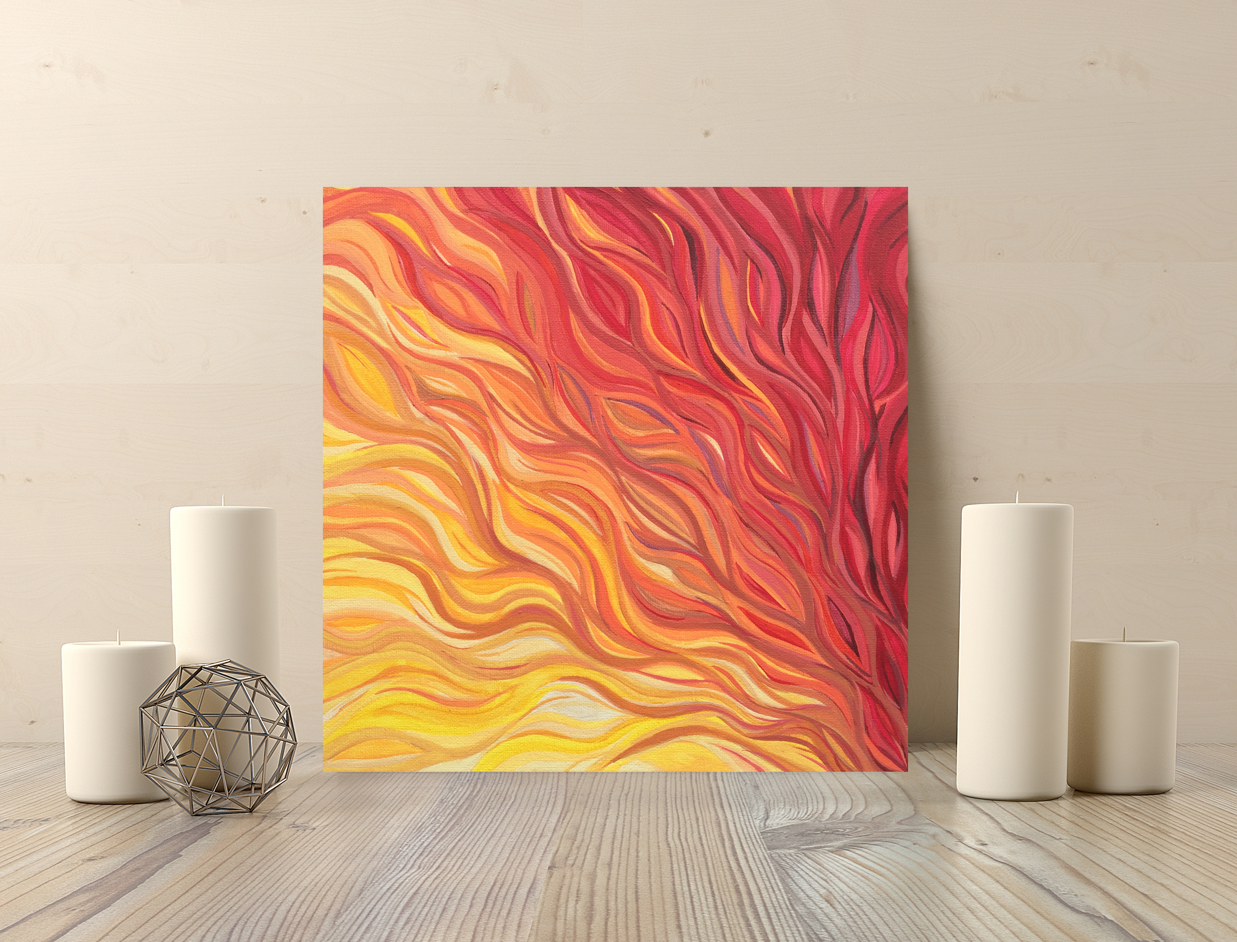 Ignition 12x12in $140