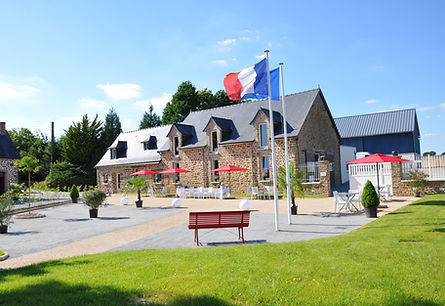 Salle de mariag du domaine Coventry n Mayenne.