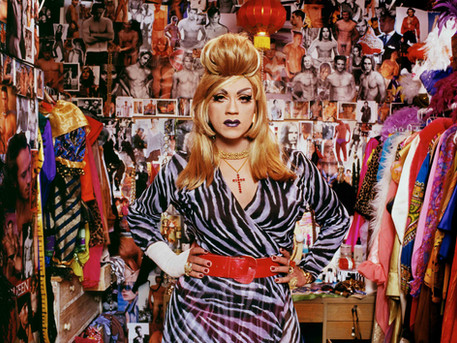 Juanita More - October 8, 1996. (Hair by Brent Haas, Styling by Todd Hartnett)