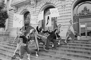 Strange Fruit theatre collective - March 4, 1978 - (Michael Starkman - Rosie Lee - Tede Matthews - Marc Huestis - Reno - Lulu - Silvana Nova)