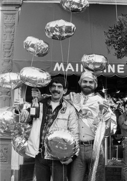 New Years Day on Castro Street, December 31, 1977