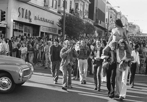 Castro Street Fair,  August 1976