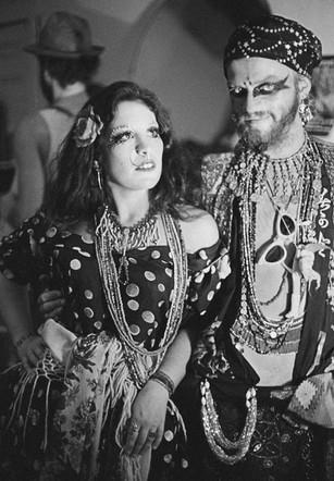Esmerelda and Lulu (Angels of Light show - Mind Kamp Kabaret) -  August 1976