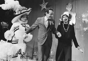 Empress 1 - José Sarria, Harvey Milk & Mavis at the Beaux Arts Ball, October 28, 1978