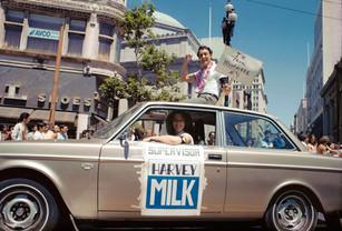 Anne Kronenberg & Supervisor Harvey Milk, SFLGBTQ Pride Parade - June 1978