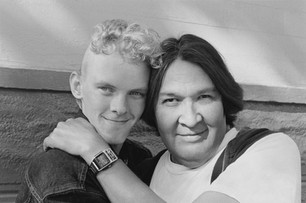 Matthew Madrigal and Hubert Johnson - Castro Street - September 23, 2001