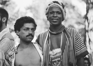 Willie and Sylvester, San Francisco Gay Pride Day - June 1976
