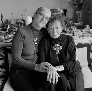 Chris Mende and Ruth Bernhard - May 16, 2003