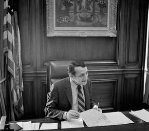 Supervisor Harvey Milk as Deputy Mayor for a day - March 7, 1978
