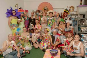 Jack Davis' birthday party - High Tea with Radical Faeries - September 26, 2009