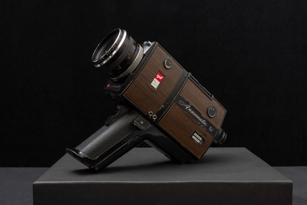 G.A.F. Company Super 8 camera - circa 1970 (Dan Nicoletta's first super 8).