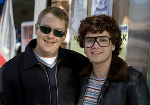 Cleve Jones and Emile Hirsch (as Cleve Jones) - January 30, 2008