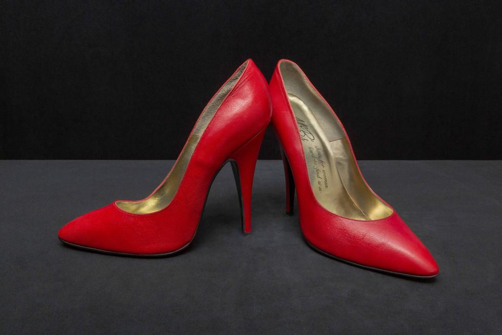 Miss Kitty's high heels circa 1990's