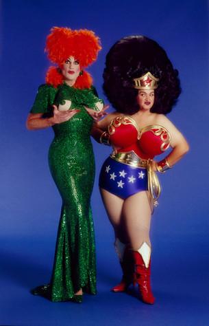 Michael Cameron Benbrook (aka Ruby Begonia Bidet) and Chris March - October 28, 1995